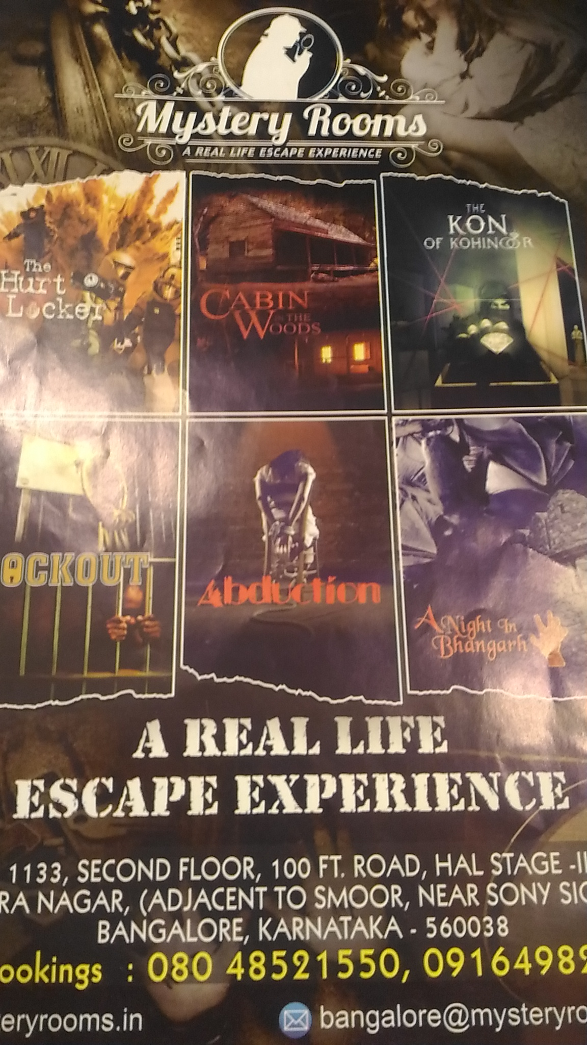 Mystery Rooms Bangalore Lets Begin The Fun R4review